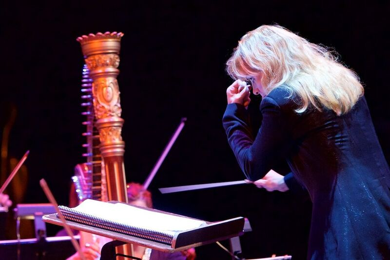 Amy Andersson, conductor