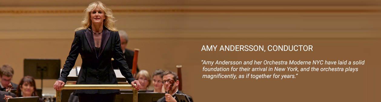 Amy Anderson, Zelda Symphony Conductor